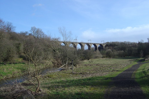 The Greenlink and the Nine Arches Viaduct