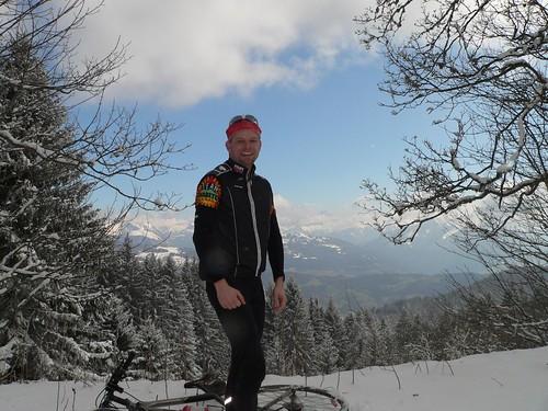 Monastre - Mont Blanc behind