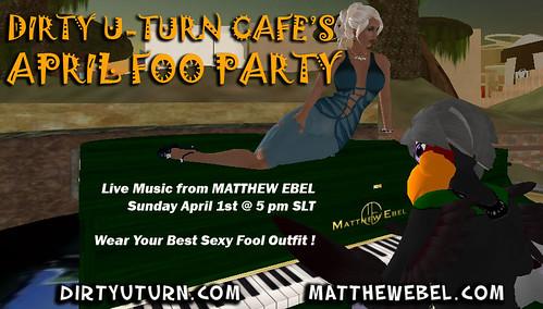 Dirty U-Turn Cafe's April FOO Party