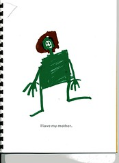 drawing of mom B