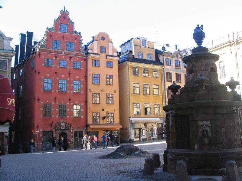Stortorget buildings
