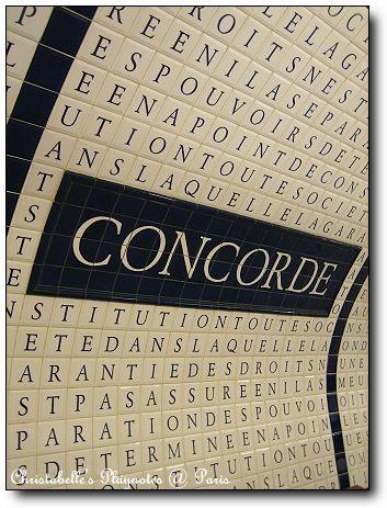 Concorde站