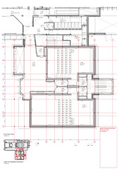 477C Further Extension to Galeri Caernarfon-First Floor Plan