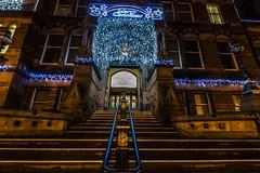 St Helens (sammys gallery) Tags: sthelens lighttrails lights nightscene night nighttraffic unitedkingdom england