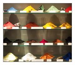 multicolored minerals (kurtwolf303) Tags: minerals mineralien multicolored bunt farbig indoor fotorahmen frame olympusem1 omd microfourthirds micro43 systemcamera mirrorless spiegellos 250v10f colorful unlimitedphotos topf25 500v20f topf50 750views 800views 1000v40f topf75