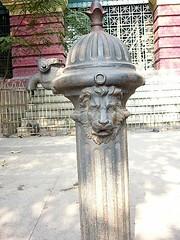 Disused Water Hydrant on Calcutta sidewalk (Kanad Sanyal) Tags: churches oldbuildings colonialarchitecture kolkata bengal calcutta britishheritage