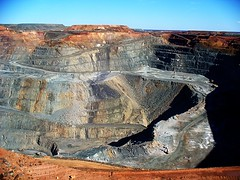 Australia, Kalgoorlie: A big whole