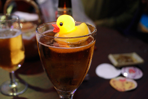 Floating duckie