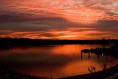 December Sunrise --  December 11 2006 (paulaloe) Tags: beautiful clouds sunrise december middecember outstandingshots december112006 bhbc hempsteadharbor p1f1 karmapotd karmapotw impressedbeauty aplusphoto mpressedbeauty