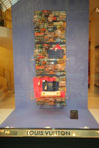 Louis Vuitton Window, Milan