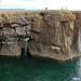 Coastal Landform - Headland and Arch   Pembroke, South Wales, UK