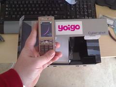 Sony Ericsson K800i yoigo