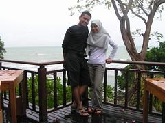 Honeymoon Banyan Tree 0013 (fuzzyfish) Tags: honeymoon tioman bintan banyantree hafiz japamala azlyna