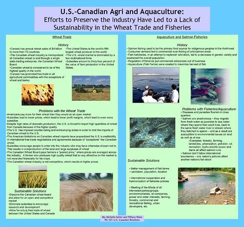 PG 337 US Canadian Agri and Aquaculture Poster