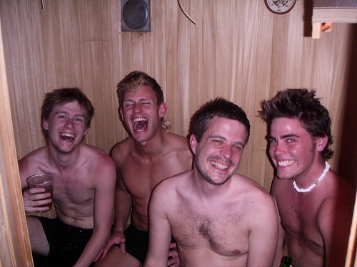 Boys in the Sauna