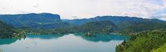 Lake Bled panorama (theredquest.com) Tags: panorama slovenia bled balkans thebalkanodyssey