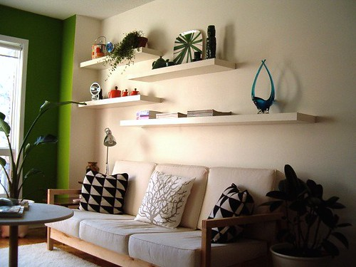 Wall Shelves Are Fashionable And Functional, Because They Hold Pictures,  Knickknacks, And Anything Else You Want To Display.