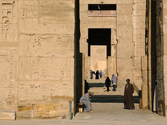Gatekeepers.jpg (Kevin Day) Tags: temple westbank egypt luxor kevday medinethabu gatekeepers