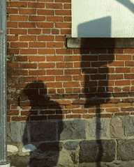 Ashley St shadows (plumb-larrick) Tags: shadows ashley 1996 scanned kodachrome kodchrome kr64 smcpa50mmf17