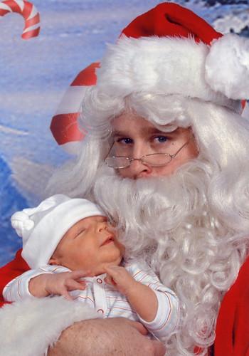 dylan and santa 11-30-06