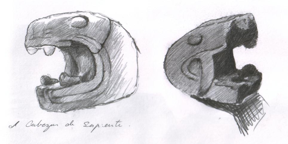 Cabezas de serpientes