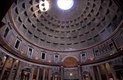 Kubah Dlm Pantheon, Rome, Italy