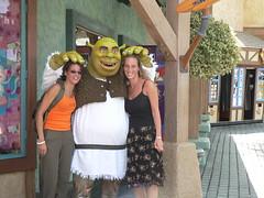 Gemmy, Shrek, & me! (Thyrza2006) Tags: 2005 california usa hollywood universalstudios