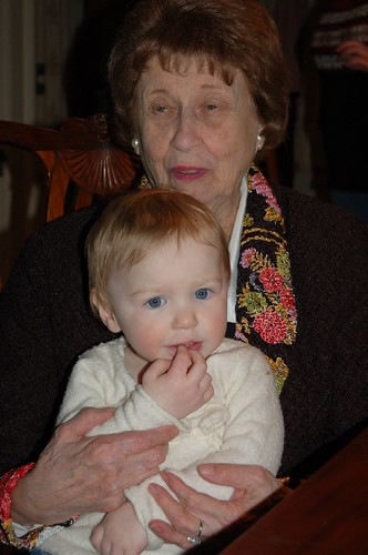 Great-Grandma Rose and Leda