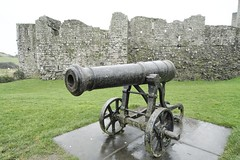 Cannon at Trim Castle in County Meath