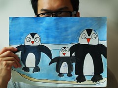 of these penguins... (鵝)