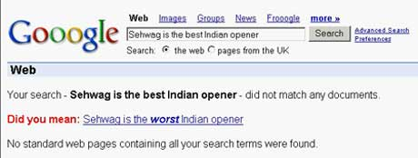 indian cricket team virendar sehwag