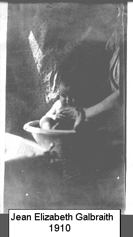 Baby Jean Elizabeth Galbraith