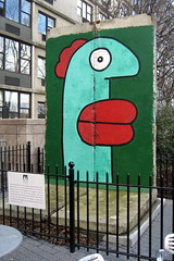 NYC - Battery Park City: Monsignor John J. Kowsky Plaza - Berlin Wall by wallyg, on Flickr