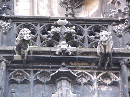 Mobile Phone Gargoyle