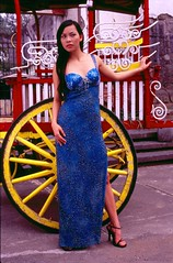 Blue Dress (jaredflo) Tags: model femalemodel intramuros bluedress philippinefemalemode