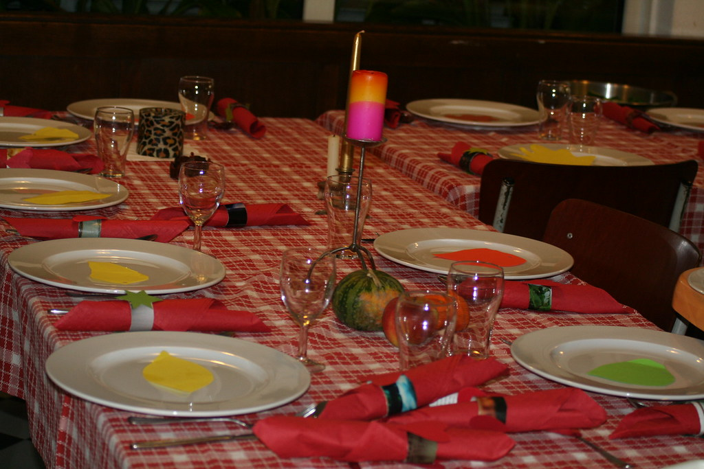 Thanksgiving Tafel