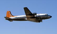 Durban Virginia Air Show 2003 (Chris Bloom) Tags: 2003 show southafrica virginia african aircraft air south north airways douglas saa durban kwazulunatal dc4