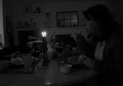 bringing in ritual: dinner at the table