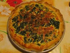 Torta salata spinaci e formaggio