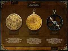 Astrolabe - Types of Astrolabes (shutupyourface) Tags: design january exhibit science malaysia astronomy kiosk multimedia 2007 psn astrolabe mdec mosti