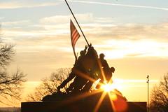 IMG_2282 (LocoCisco) Tags: park dog sun usmc sunrise canon dc washington nationalpark marine memorial war nps flag united national corps devil marines semper fi states np rise dslr semperfi iwo jima 30d devildogs leartherneck unitedstatesmarinecorpswarmemorial