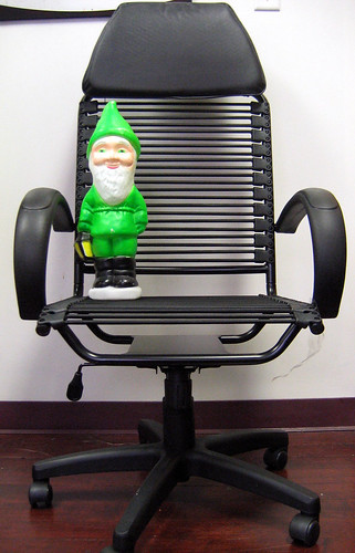 Gnome Meets Chair