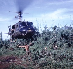 1st Cav Huey Landing (Marvin Bredel) Tags: army things vietnam huey helicopters veteran marvin usarmy 1stcav 1stcavalrydivision airmobile vietnamveteranthings nampics vietnampics marvin908 bredel marvinbredel