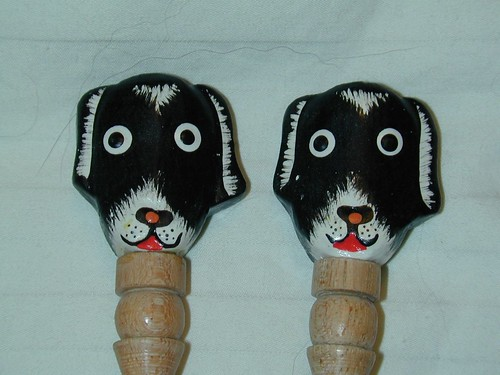 Size 17 Knitting Needles with Doggies