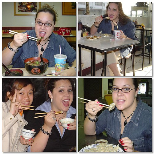 Sarah and Chopsticks
