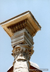 It took years before the Romans understood that with these columns, they could actually support a roof
