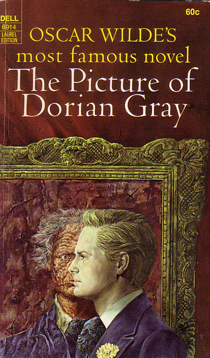The picture of dorian gray by Oscar Wilde, book cover.