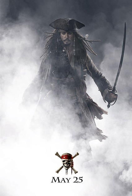 pirates of the carribean at worlds end jack sparow poster Johnny Depp