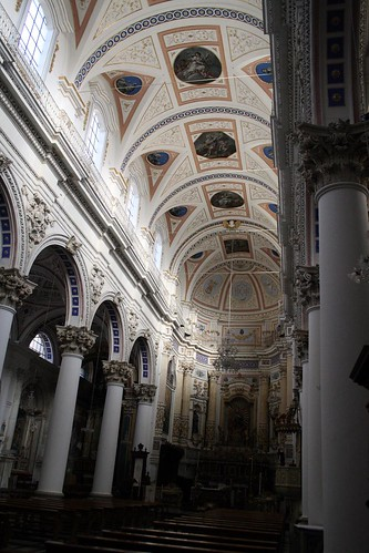Interior of St. Peter's, Modica