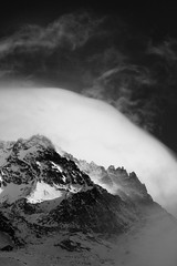 Aiguille De Peclet (J!mbo) Tags: winter bw cloud mountain snow ski france alps photoshop lenstagged thealps valthorens photoshopcs2 70200mm sigma70200f28 sigma70200mm sigma70200 peclet canoneos400d canoneosdigitalrebelxti sigmaapo70200mmf28exdgmacrohsm canoneos40d apo70200f28exhsm